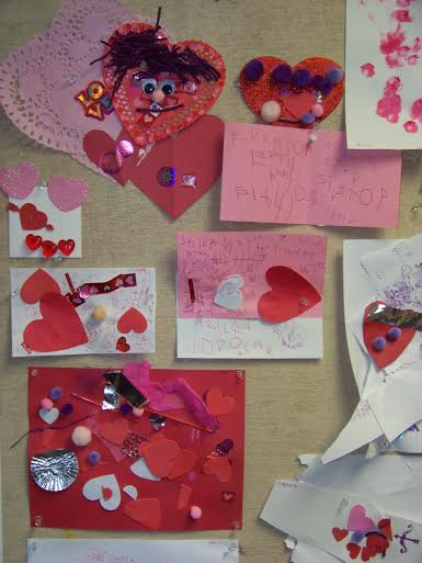 We work with all kinds of media and styles to make Valentine's that are special and unique.